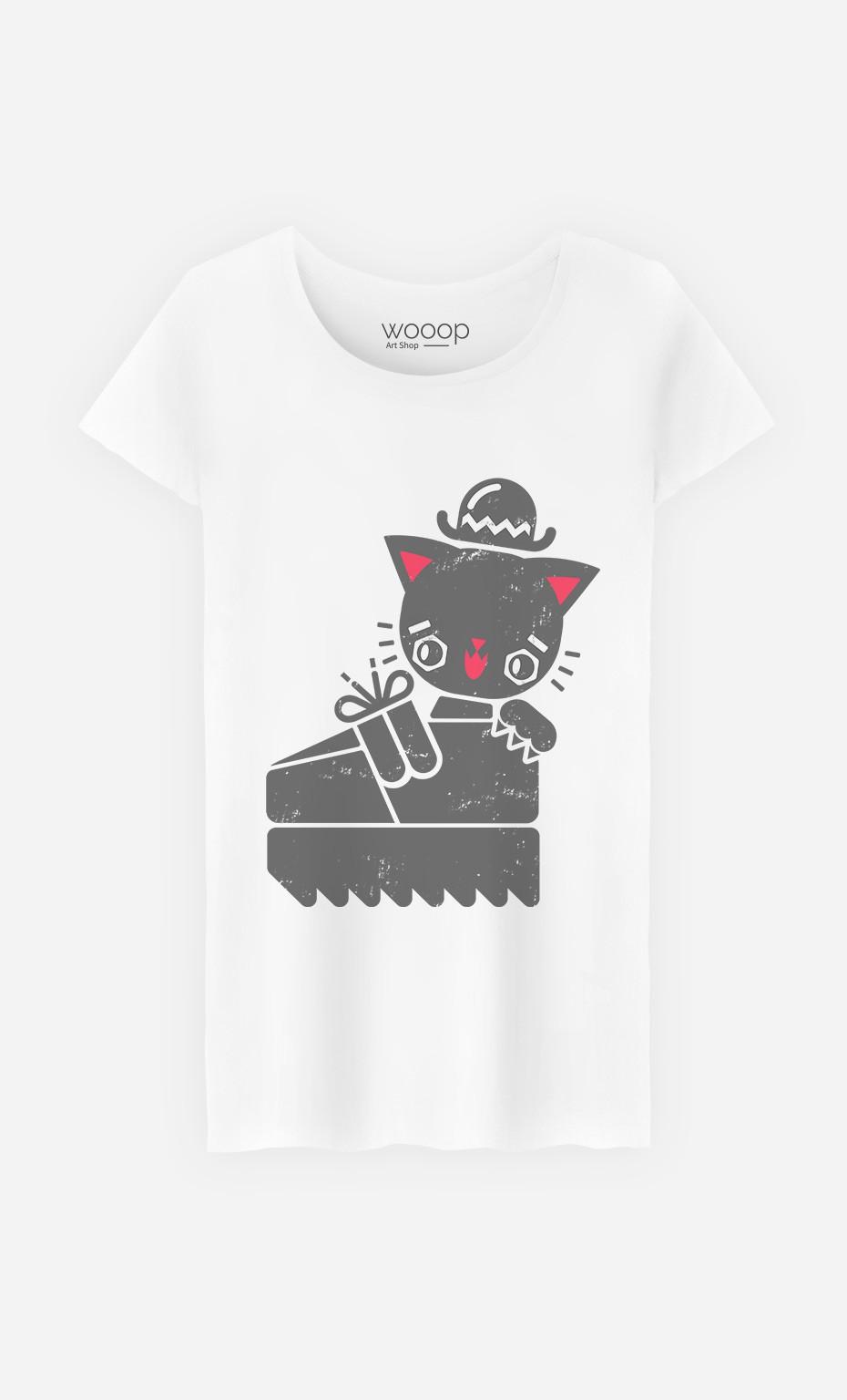 T-Shirt Creeper Cat