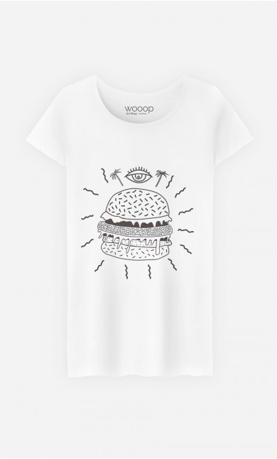 T-Shirt Burger Punk