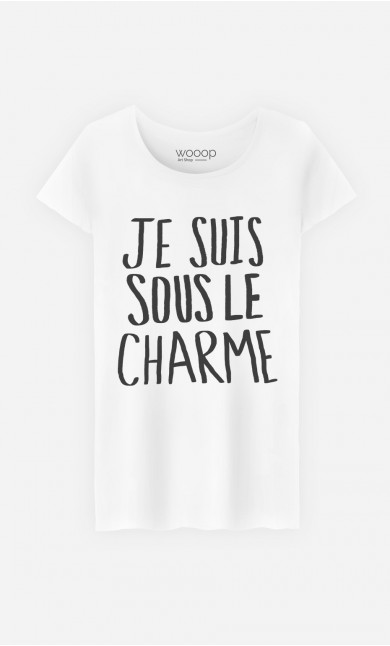 "T-Shirt Tendance ""Sous Le Charme"""