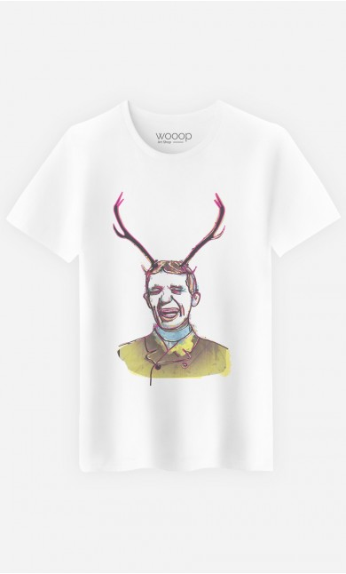 T-Shirt Deer Man