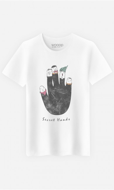 T-Shirt Secret Hands