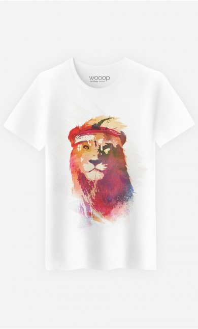 T-Shirt Gym Lion