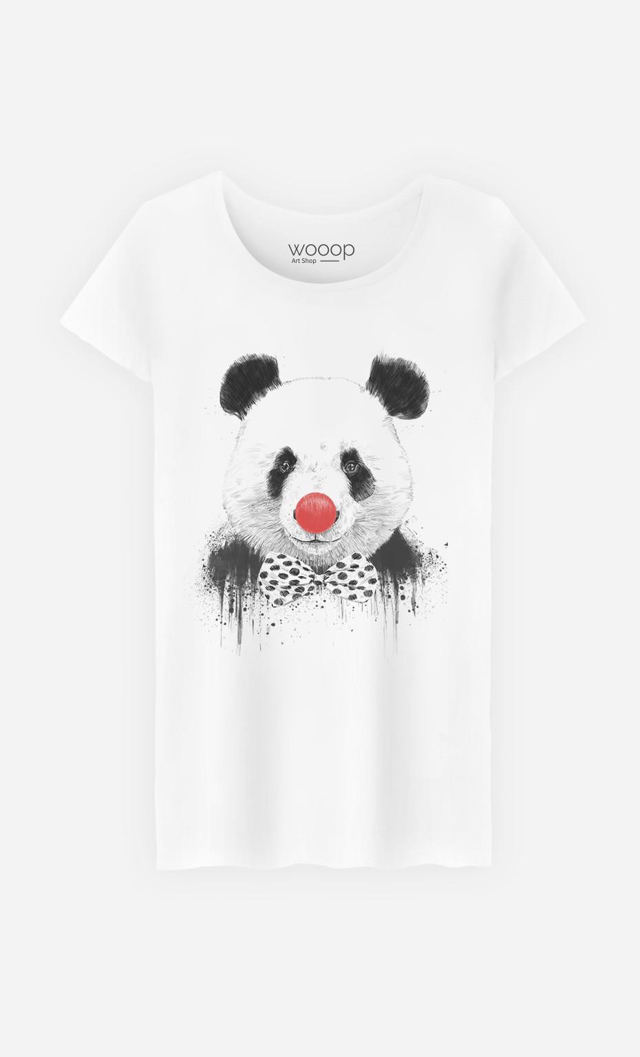 T-Shirt Clown Panda