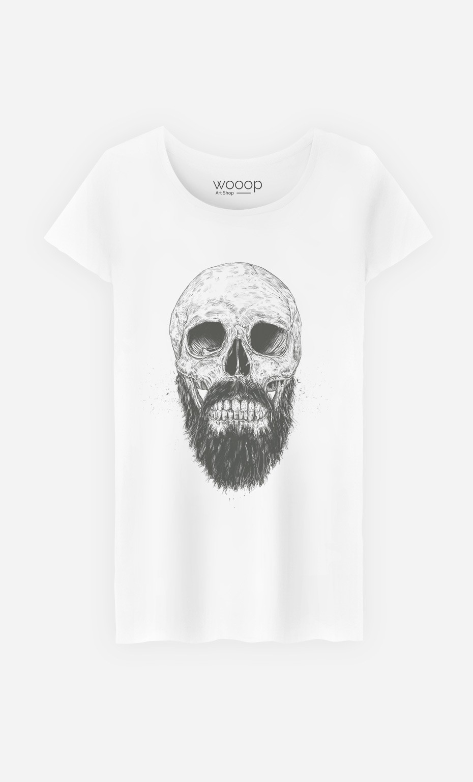 T-Shirt Hipster Barbe
