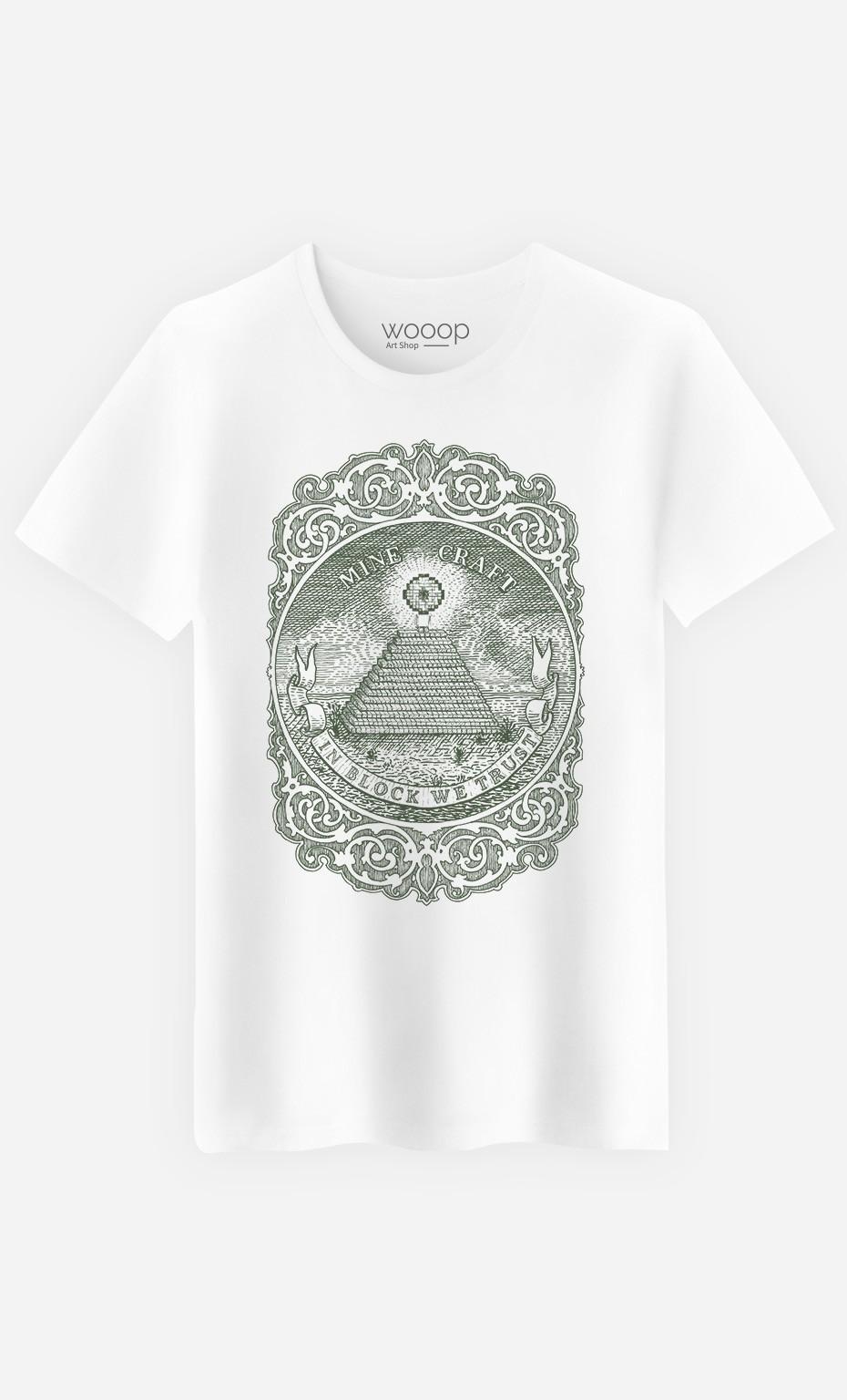 T-Shirt In Block We Trust