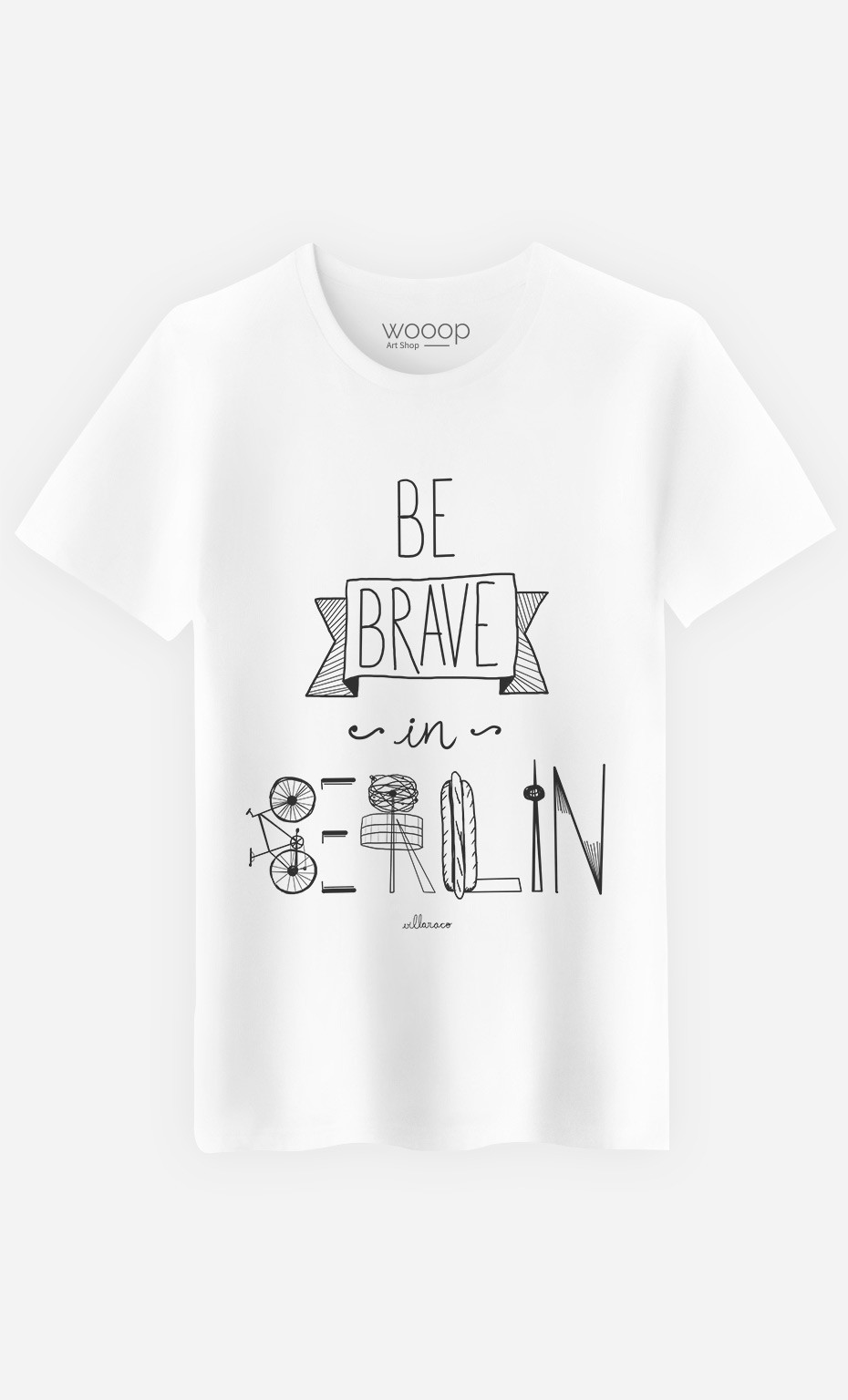 T-Shirt Be Brave In Berlin
