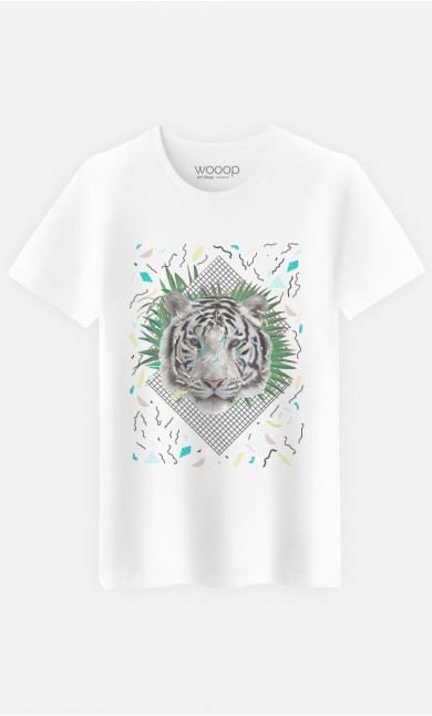T-Shirt White Tiger