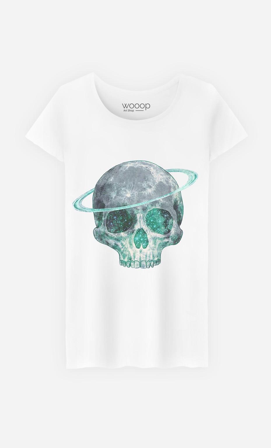 T-Shirt Cosmic Skull