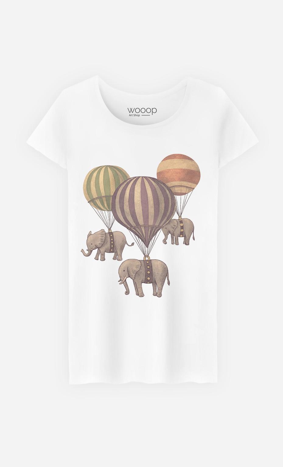 T-Shirt Flight of Elephants