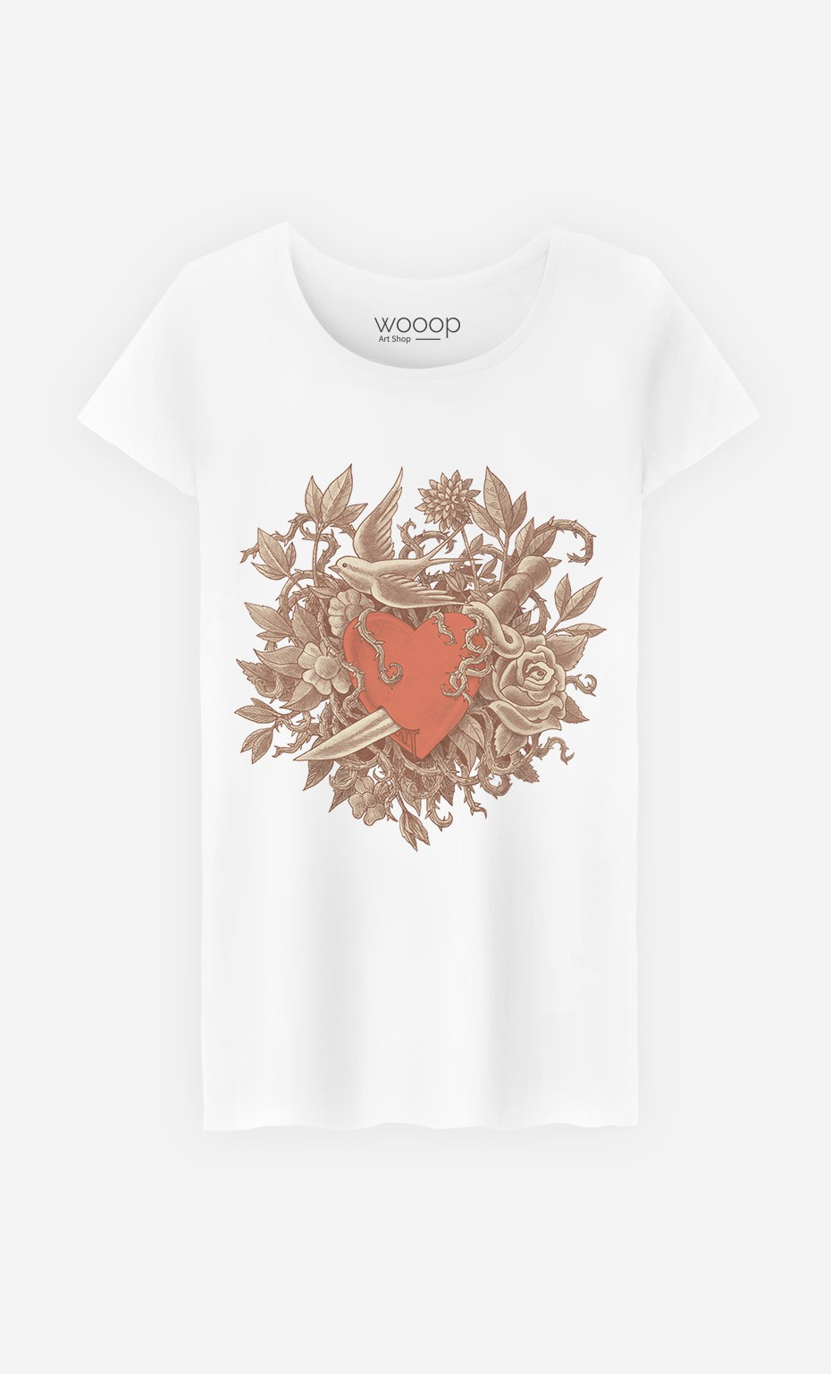 T-Shirt Heart Of Thorns