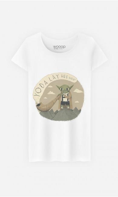 T-Shirt Yoda Layheehoo