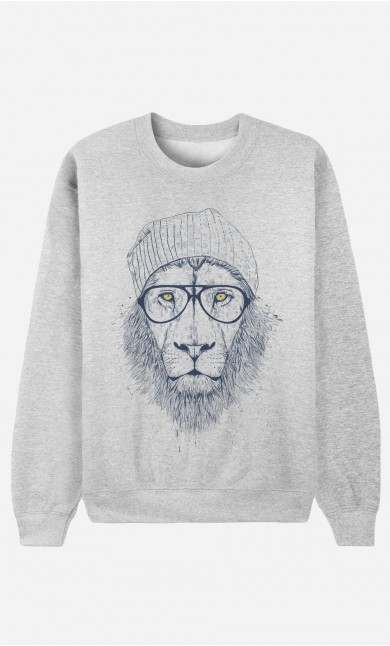 Sweatshirt Cool Lion