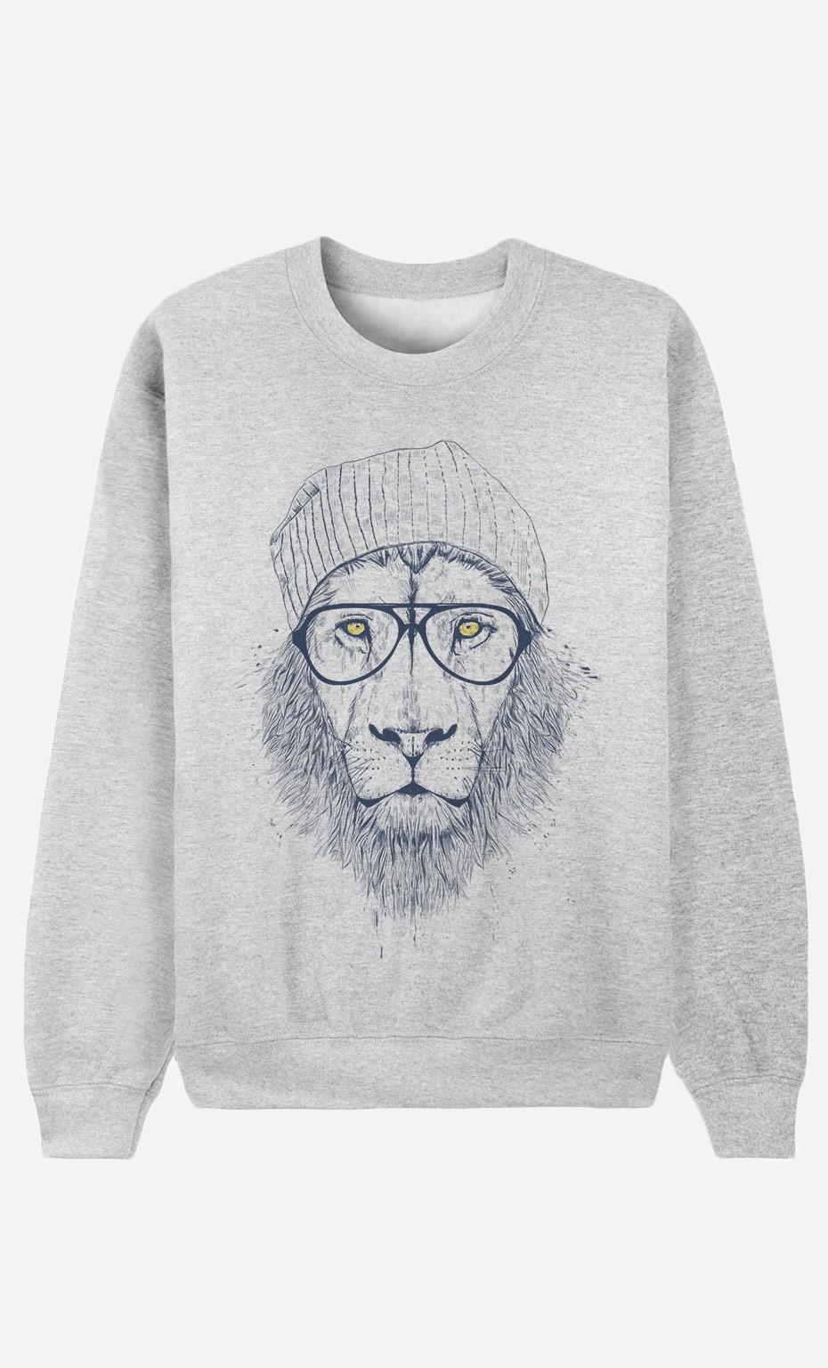Sweatshirt Cool Lion