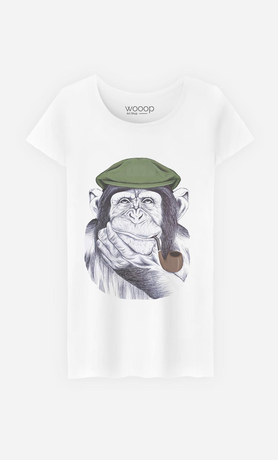 T-Shirt Wise Mr Chimp