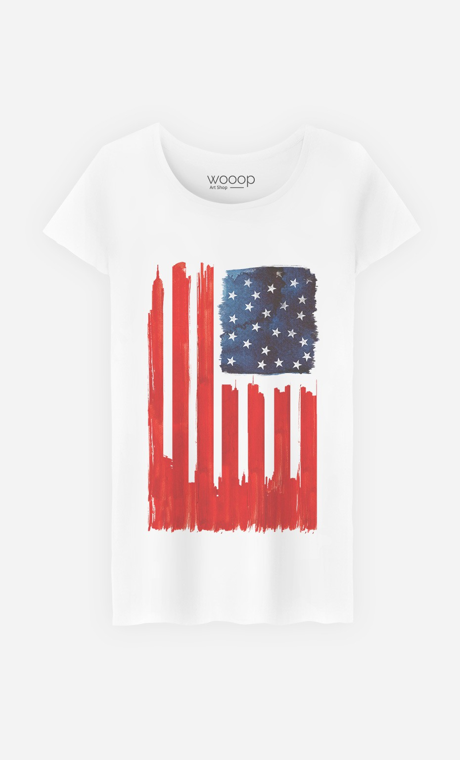 T-Shirt Stars and Buildings