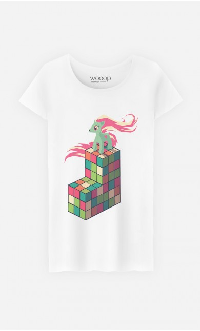 T-Shirt Pony Rubik
