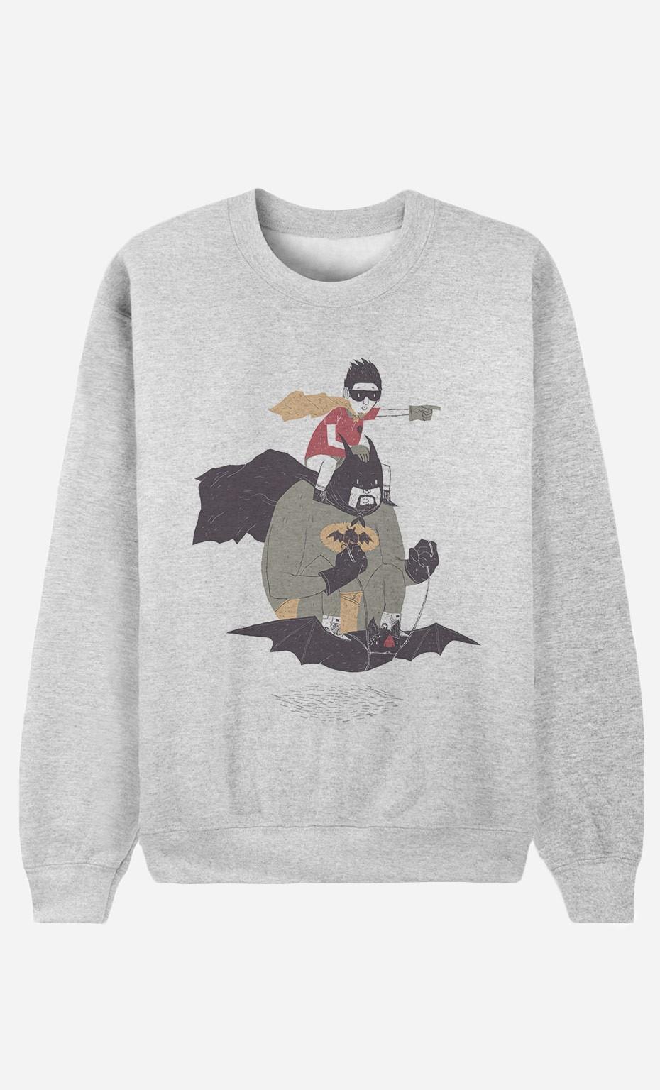 Sweatshirt Batman & Robin