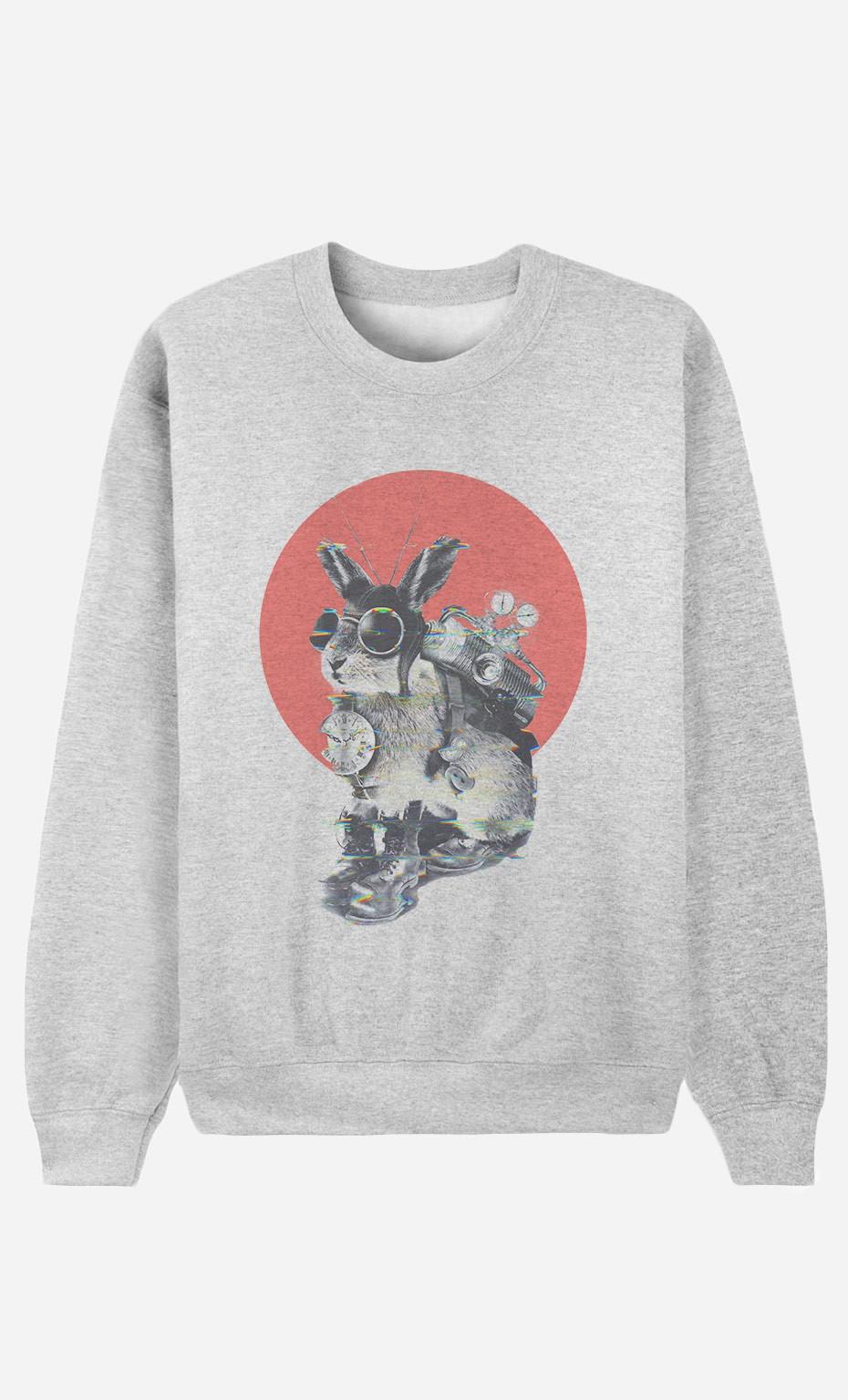 Sweatshirt Time Traveller