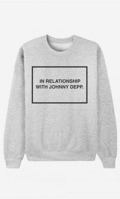 Sweatshirt With Johnny Depp