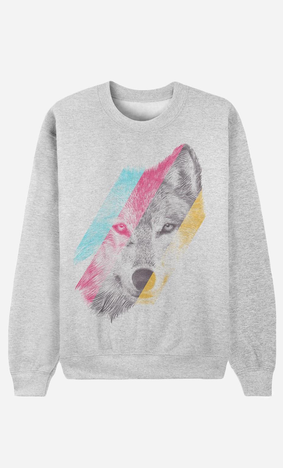 Sweatshirt Wild Wolf