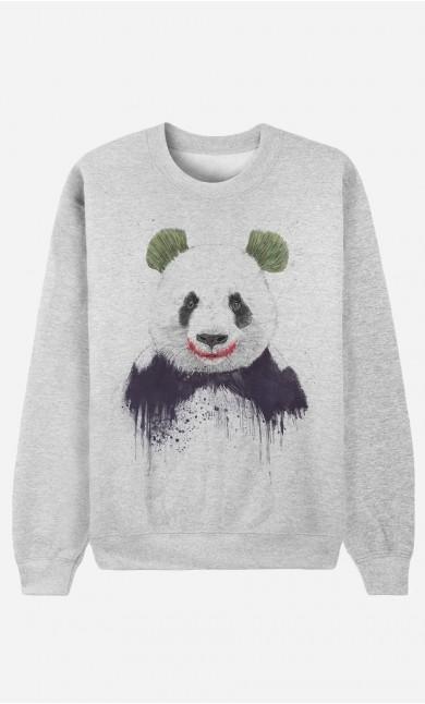 Sweatshirt Joker Panda