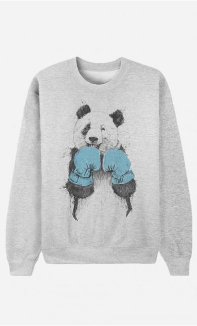 Sweatshirt The Winner Panda