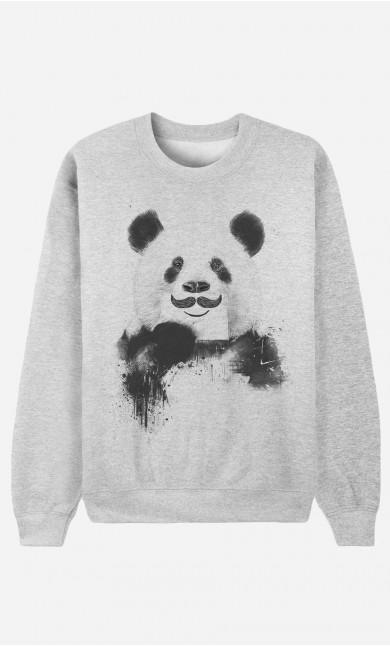Sweatshirt Funny Panda