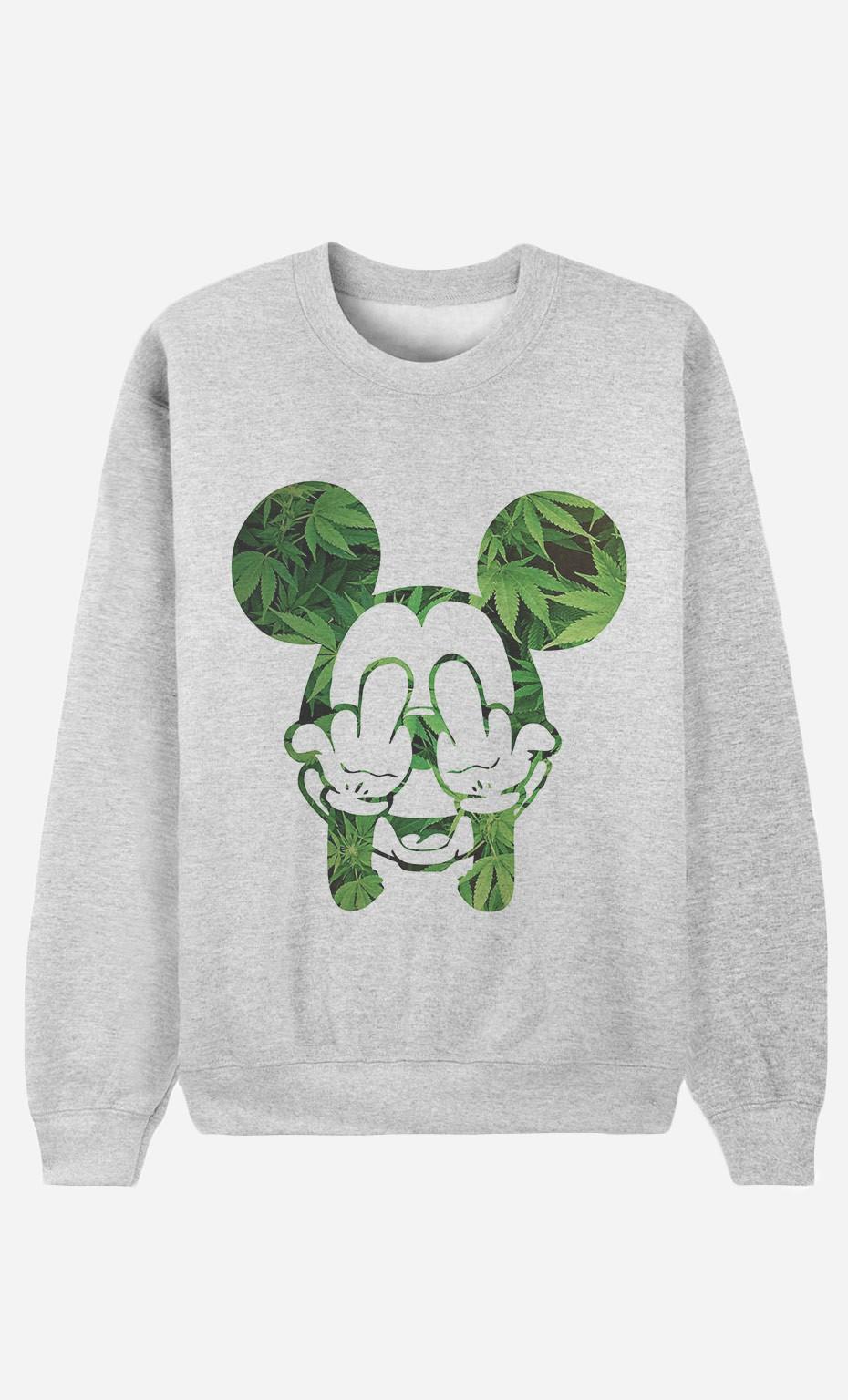 Sweatshirt Fuck & Smoke