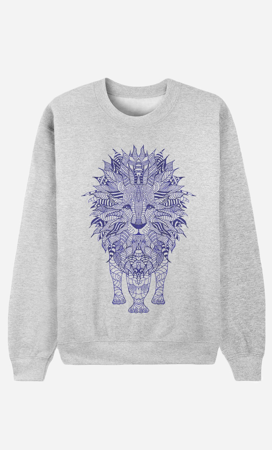 Sweatshirt Lion Blue