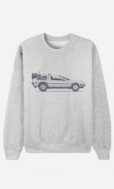 Sweatshirt Delorean