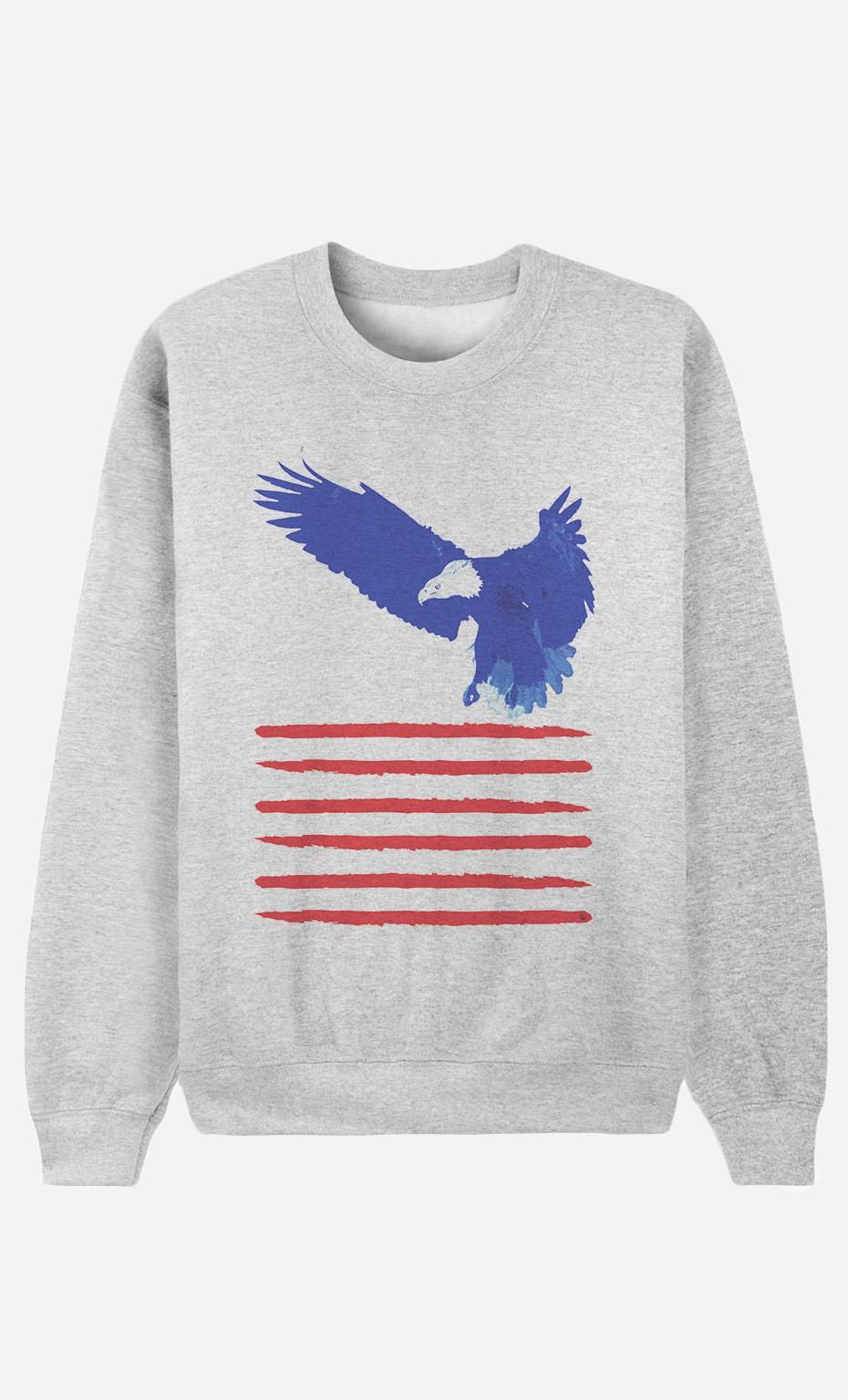 Sweatshirt Flying The Flag