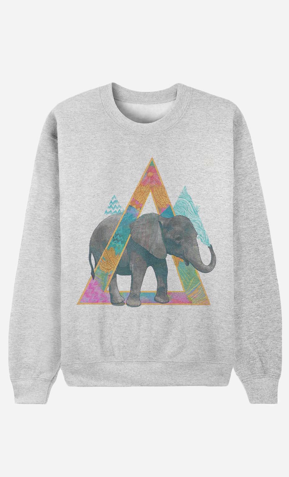 Sweatshirt Elephant