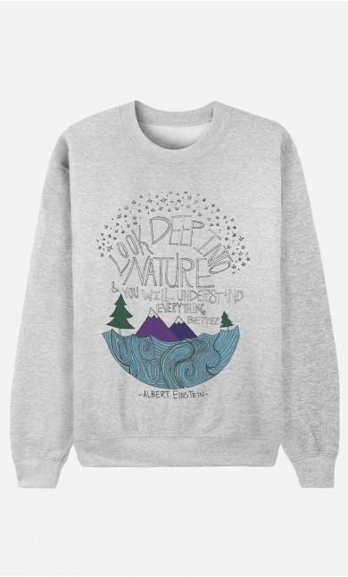 Sweatshirt Deep Into Nature
