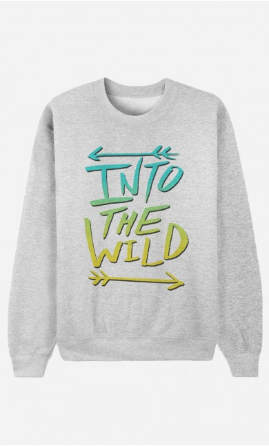Sweatshirt Into The Wild