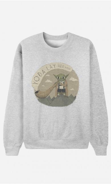 Sweatshirt Yoda Layheehoo