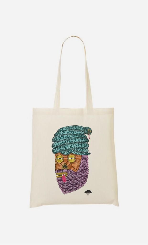 Tote Bag Snake Turban