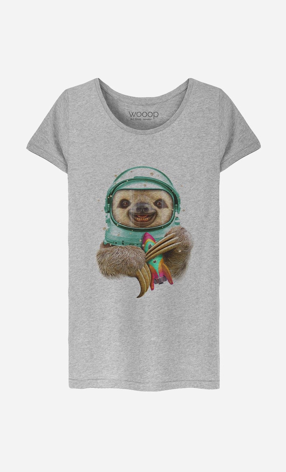 T-Shirt Space Sloth
