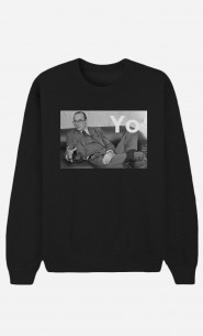 Sweat Noir Chirac Yo