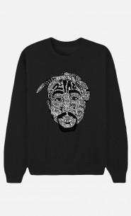 Black Sweatshirt Tupac Shakur