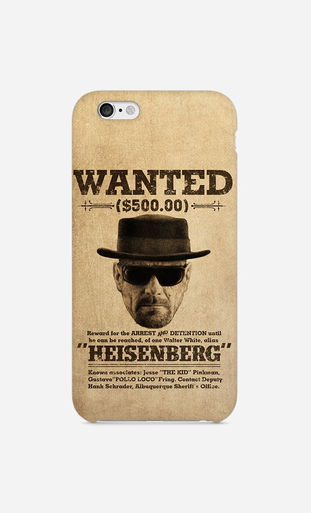 Case Wanted Heisenberg