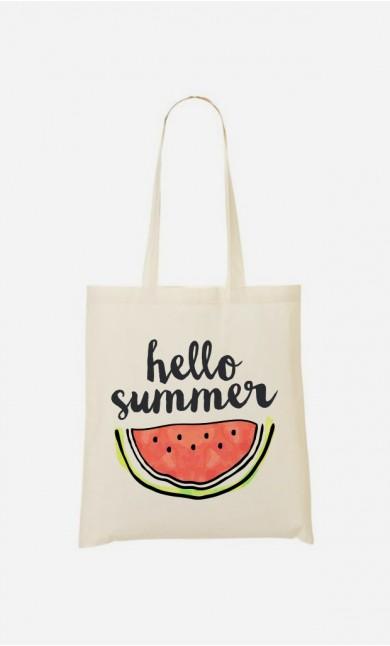 Tote Bag Hello Summer