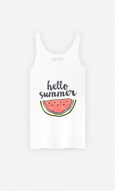 Tank Top Hello Summer