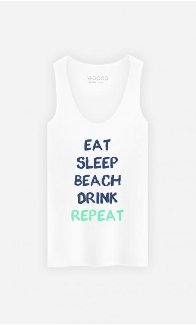 Tank Top Eat Sleep Beach Drink Repeat
