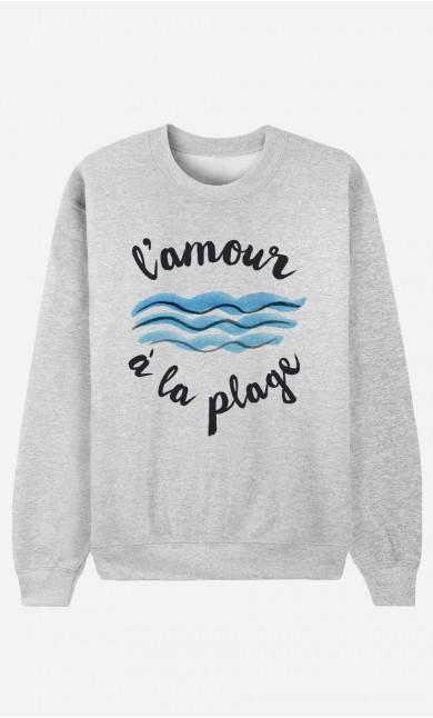 Sweatshirt L'Amour à la Plage
