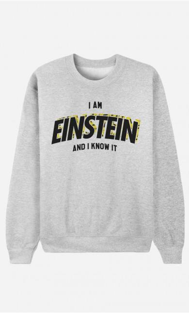 Sweatshirt I Am Einstein And I Know it