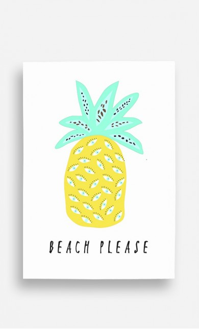 Poster Beach Please