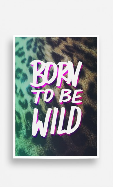 Poster Born to be Wild
