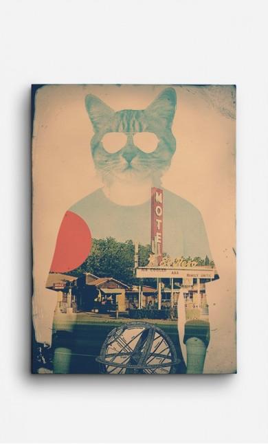 Canvas Cool Cat