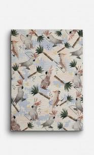 Canvas Cockatoos