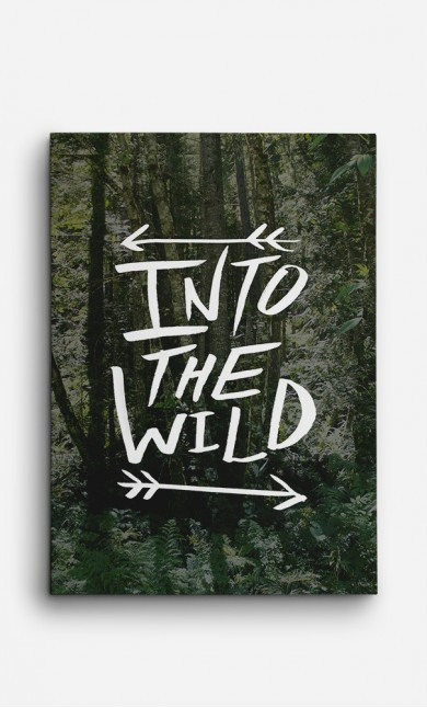 Canvas Into The Wild